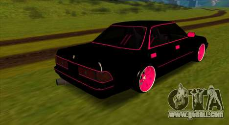 Toyota Mark II GX81 FOR DRIFT for GTA San Andreas right view