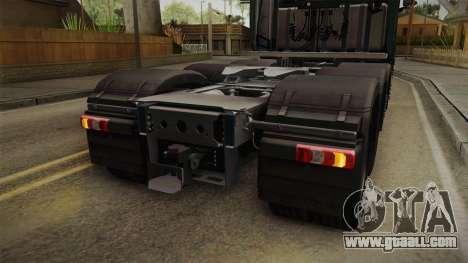 Mercedes-Benz Arocs SLT 4163 8x4 Euro 6 v2 for GTA San Andreas interior