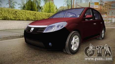 Dacia Sandero Stepway 2011 for GTA San Andreas