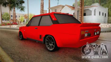 Fiat 131 Abarth for GTA San Andreas left view