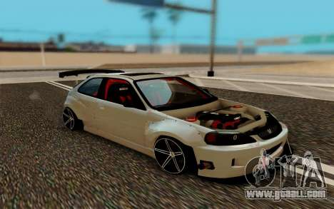 Honda Civic 98 Hatch Rocket Bunny for GTA San Andreas