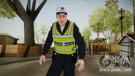 Turkish Traffice Police Officer-Long Sleeves for GTA San Andreas