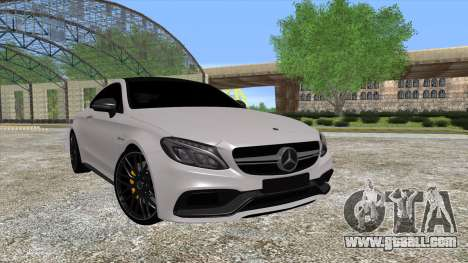 Mercedes-Benz C63 Coupe for GTA San Andreas