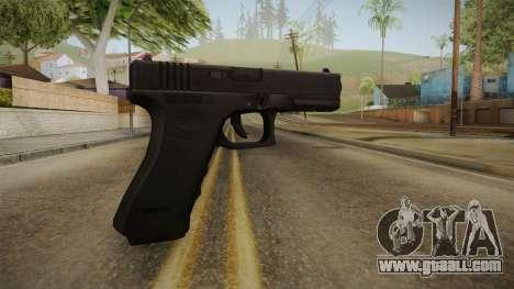 Glock 18 3 Dot Sight Pink Magenta for GTA San Andreas second screenshot