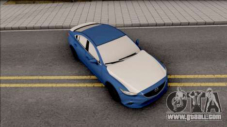 Mazda 6 Standard 2015 for GTA San Andreas right view