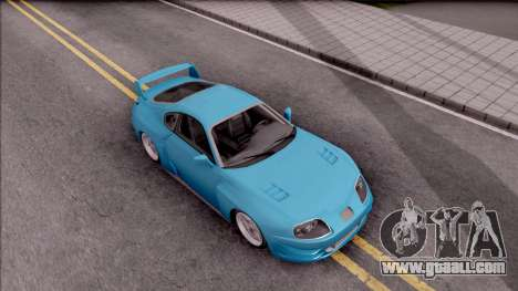 Toyota Supra MK4 NFSUC Tuning for GTA San Andreas