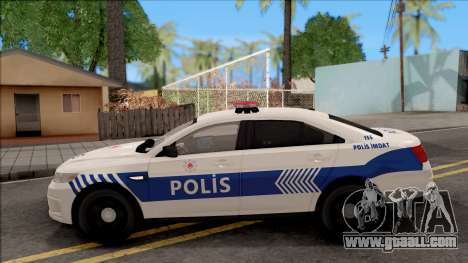 Ford Taurus Turkish Security Police for GTA San Andreas left view