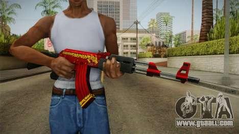 CF AK-47 v6 for GTA San Andreas
