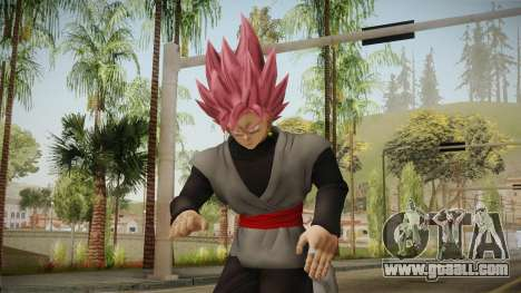 DBX2 - Goku Black SSJR v2 for GTA San Andreas