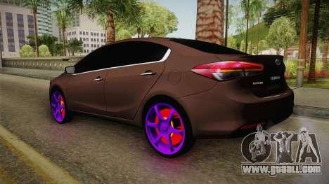 Kia Cerato Eccentric for GTA San Andreas right view