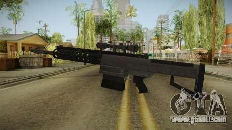 Gunrunning Heavy Sniper Rifle v1 for GTA San Andreas second screenshot