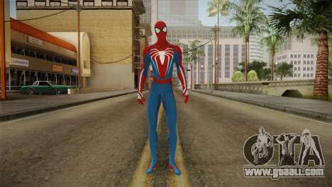 Spider-Man E3 PS4 Skin for GTA San Andreas second screenshot