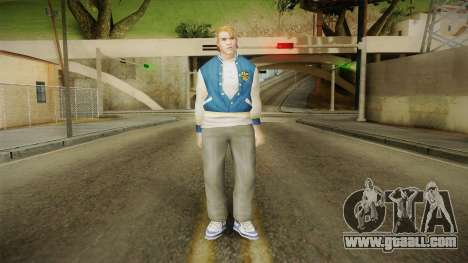 Casey from Bully Scholarship for GTA San Andreas second screenshot