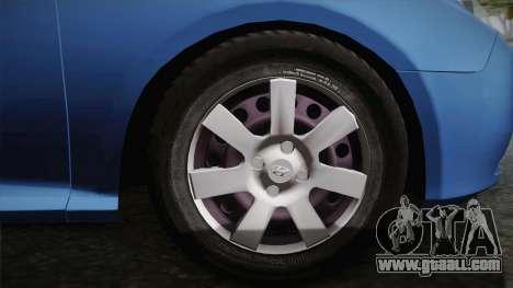 Hyundai Elantra 2008 for GTA San Andreas inner view