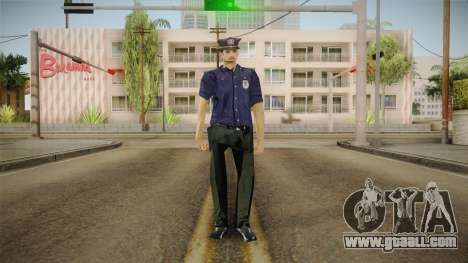 Driver PL Police Officer v2 for GTA San Andreas second screenshot