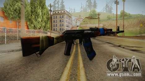Contract Wars - AK-74 for GTA San Andreas third screenshot