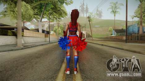 Cheer Captain Kerrigan v5 for GTA San Andreas third screenshot