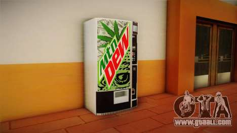 New vending machines with Mountain Dew for GTA San Andreas second screenshot