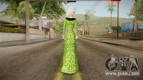 Elsa Military Skin for GTA San Andreas third screenshot