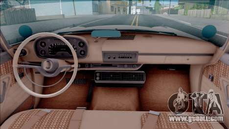 Plymouth Fury 1958 IVF for GTA San Andreas inner view