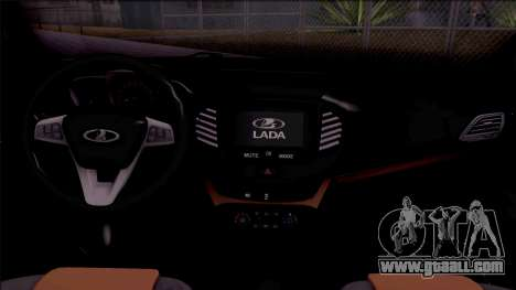 Lada Vesta 2016 for GTA San Andreas inner view