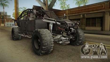 Ghost Recon Wildlands - Unidad AMV No Minigun v2 for GTA San Andreas right view
