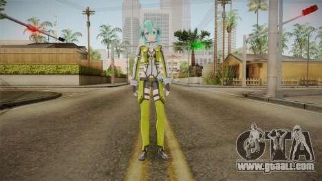Sinon Original Skin for GTA San Andreas second screenshot