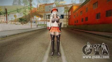 Gods Eater: Ressurection - Alisa Amiella for GTA San Andreas second screenshot