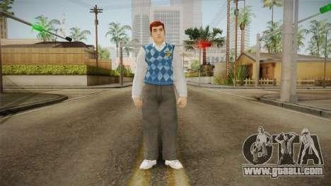 Bif Taylor from Bully Scholarship for GTA San Andreas second screenshot