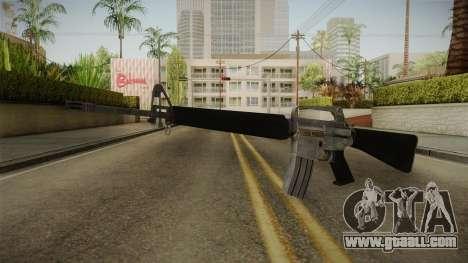 M16A1 Assault Rifle for GTA San Andreas second screenshot