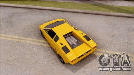 GTA V Pegassi Torero IVF for GTA San Andreas back view