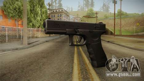Glock 18 3 Dot Sight Blue for GTA San Andreas
