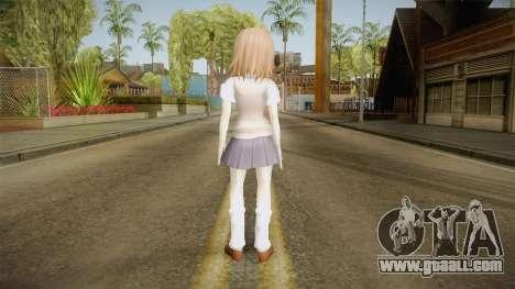 Misaka Mikoto Skin for GTA San Andreas third screenshot
