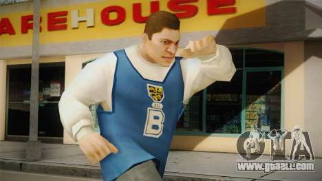 Luis Luna from Bully Scholarship for GTA San Andreas