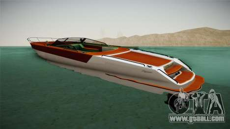 GTA 5 Speeder for GTA San Andreas left view