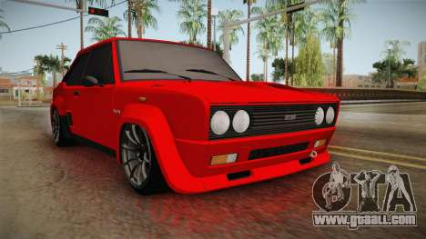 Fiat 131 Abarth for GTA San Andreas right view
