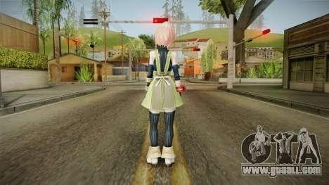 God Eater 2: Rage Burst - Kanon Daiba v2 for GTA San Andreas third screenshot