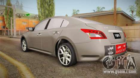 Nissan Maxima 2011 for GTA San Andreas left view