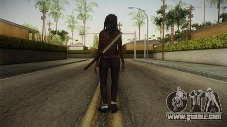 The Walking Dead: No Mans Land - Michonne for GTA San Andreas third screenshot