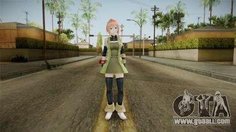 God Eater 2: Rage Burst - Kanon Daiba v2 for GTA San Andreas second screenshot
