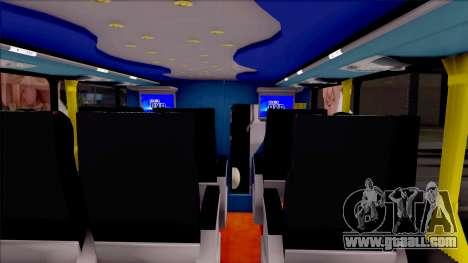 Scania Metalsur Starbus 2 Descapotable for GTA San Andreas inner view