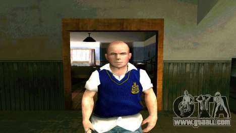 Skin HD Jimmy Hopkins (Bully) for GTA San Andreas