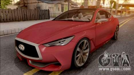 Infiniti Q60 for GTA San Andreas