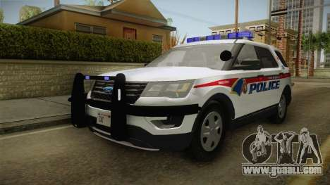 Ford Explorer 2016 YRP for GTA San Andreas right view