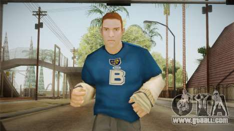 Juri Karamazov from Bully Scholarship for GTA San Andreas
