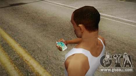 iPhone 7 Plus Gold for GTA San Andreas third screenshot