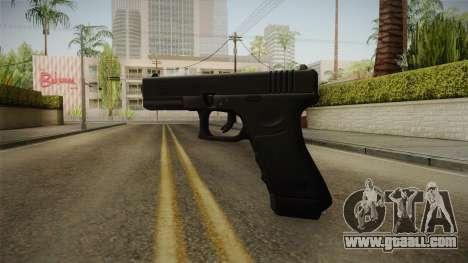 Glock 17 Blank Sight for GTA San Andreas third screenshot