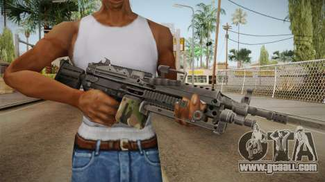 M249 Light Machine Gun v3 for GTA San Andreas third screenshot
