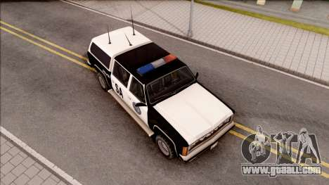 Police Rancher 4 Doors for GTA San Andreas right view