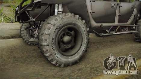 Ghost Recon Wildlands - Unidad AMV No Minigun v2 for GTA San Andreas back view
